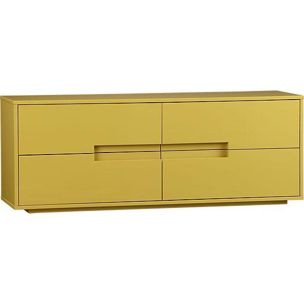 latitude grellow low dresser in storage | CB2