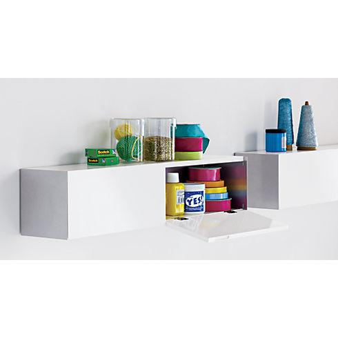 hide n' seek storage shelf in storage | CB2