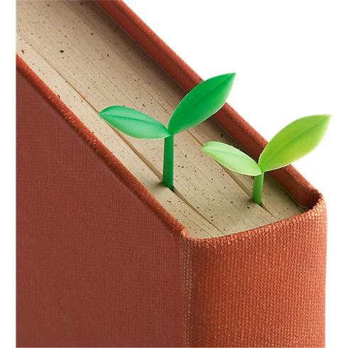 set of 6 sprout bookmarks in office accessories   CB2