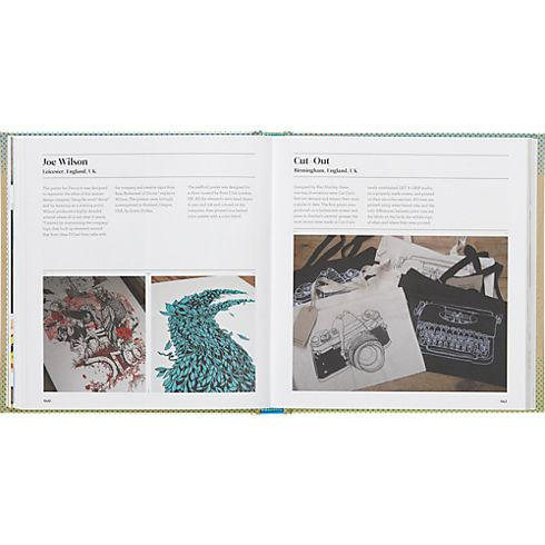 the little book of screen printing in table top décor | CB2