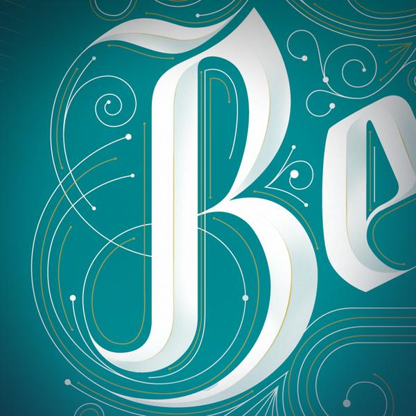 Beautiful Typographic Work by Jordan Metcalf | Abduzeedo | Graphic Design Inspiration and Photoshop Tutorials
