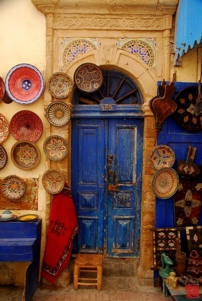 Stairs, Doors, and Balconies / Morocco