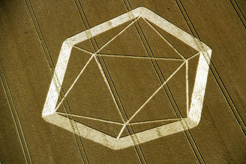 Crop Circle at Owslebury, nr Winchester , Hampshire. Reported 29th July  2012.