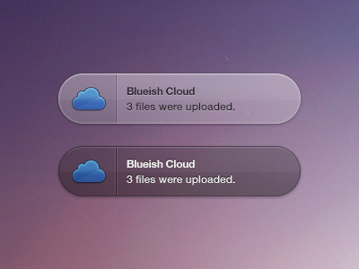 Blueish Cloud Growl (Freebie & Coded) by Victor Erixon