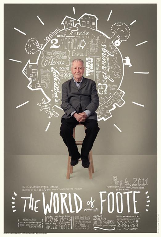 World of Foote Poster | culturefried.com