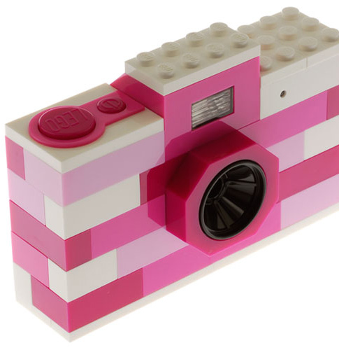 Real toy digital camera. LEGO Digital Camera Pink - Matomeno