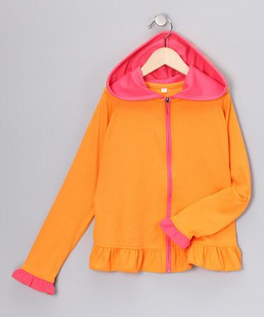 Tangerine Hoodie | Daily deals for moms, babies and kids