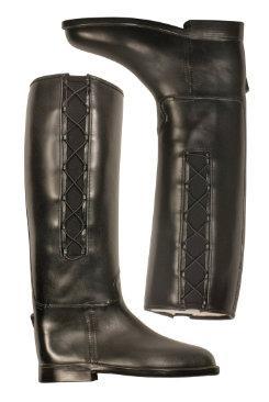 dav Ladies Equestrian Corded Rain Boots