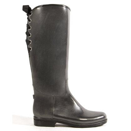 dav Ladies Gunmetal Pearl Victoria Rain Boots and Rain and Muck Boots | EQUESTRIAN COLLECTIONS.COM