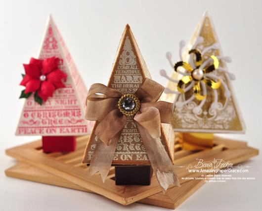 O Christmas Tree » JustRite Stampers » Spellbinders » Stamping » Amazing Paper Grace