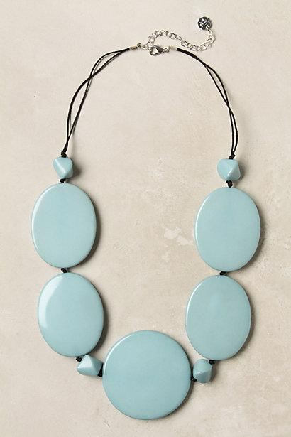 Oval Stacks Necklace - Anthropologie.com