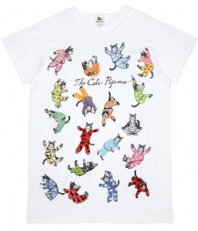 Hatley Store: Hatley Cat's Pajamas One Size Sleepshirt