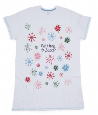 Hatley Store: Hatley Snow Falling To Sleep Women's One Size Sleepshirt