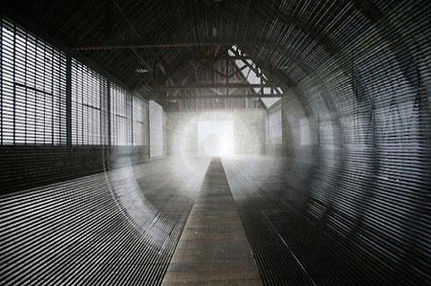 Astounding time warp tunnel made from VHS tape — Lost At E Minor: For creative people