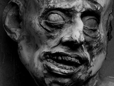 Disturbing head sculptures by Anthony Janello — Lost At E Minor: For creative people