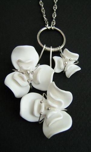 Fleurs de porcelaine - Photo de 2009 - gRiS bLEu