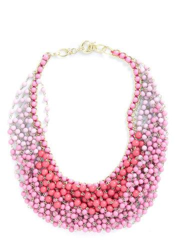 Statement of the Art Necklace in Bouquet | Mod Retro Vintage Necklaces | ModCloth.com