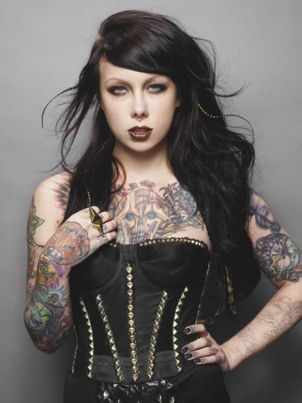 Meat Beer Babes & All things real men crave » New York Doll. Megan Massacre Feature Interview at Inked Magazine.