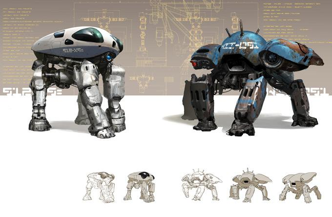 Concept Art World » Nuthin' But Mech