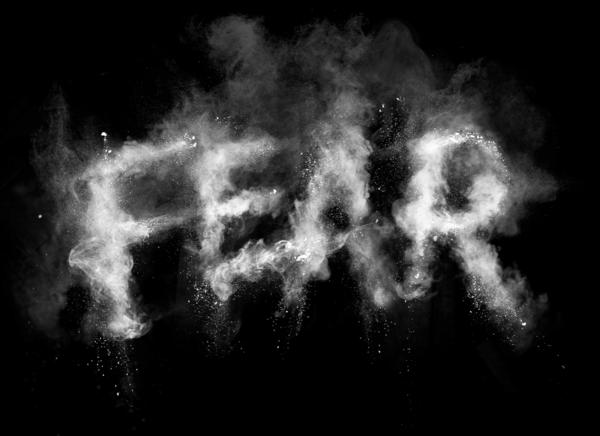 FEAR - typography for Secret Deodorant / Leo Burnett