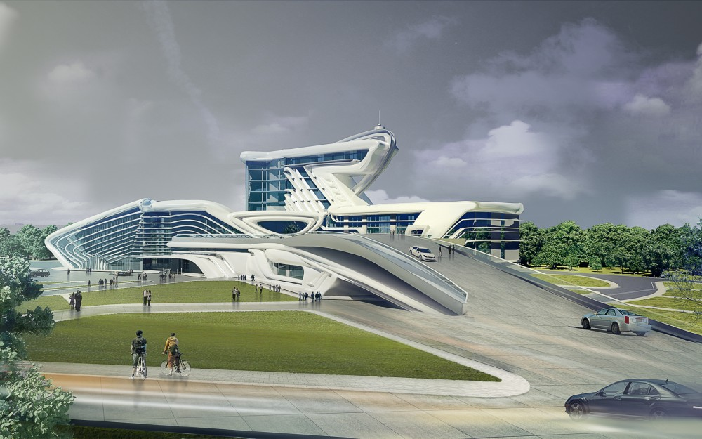 Architecture Photography: Center for Development of Innovative Transportation Technologies / KO+KO Architects - Center for Development of Innovative Transportation Technologies (184001) - ArchDaily