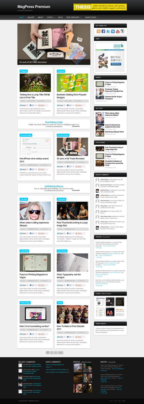 ModLess WordPress Theme | MagPress.com
