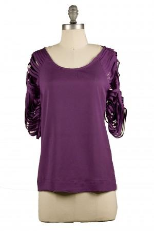 Shredded Grape Top | Indie Retro Vintage Inspired Tops | Poetrie