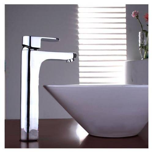 Contemporary Waterfall Bathroom Sink Faucet (Chrome Finish) – FaucetSuperDeal.com