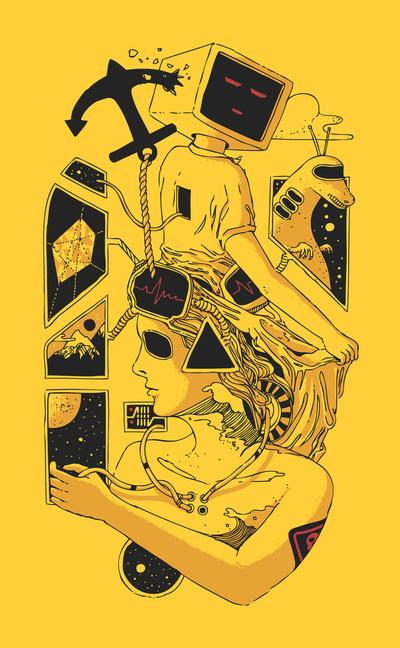 In Too Deep Art Print by Norman Duenas | Society6
