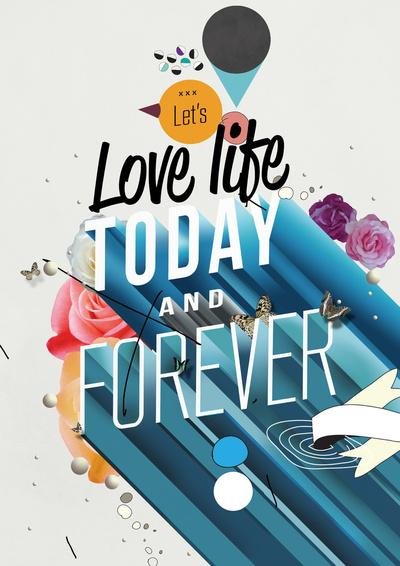 Everything Forever Art Print by Kavan & Co | Society6
