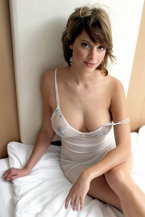 ночнушке голая фото