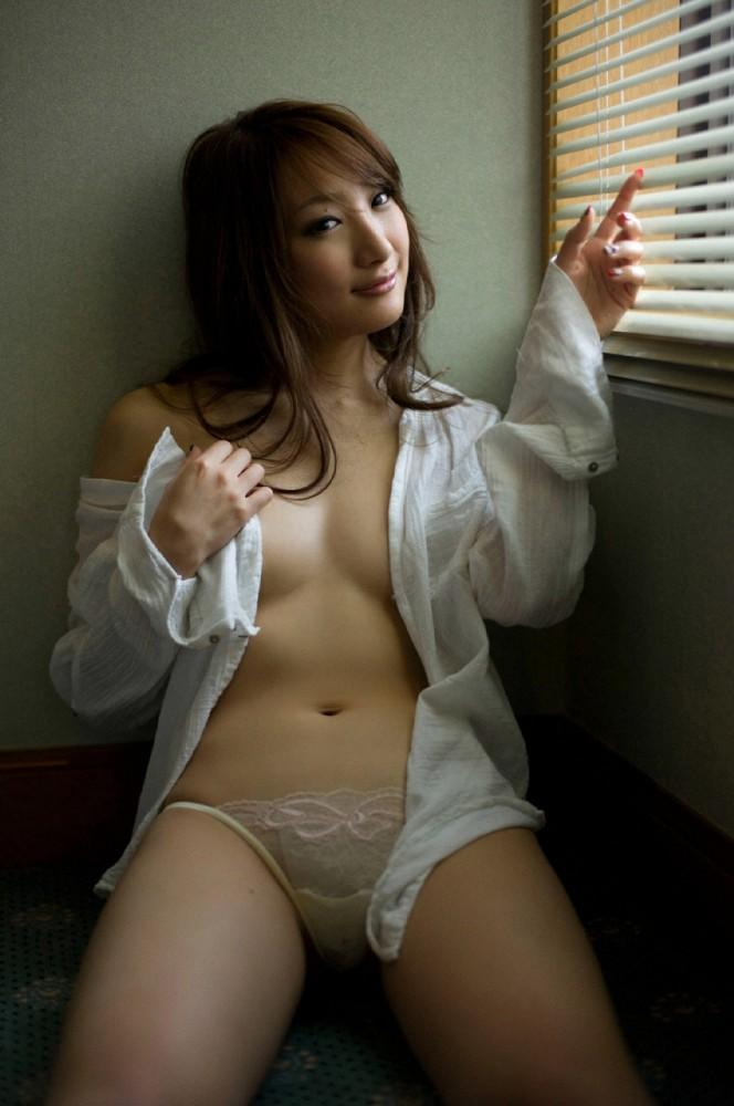 aihara nana blouse cleavage open clothes pantsu | Idol Complex - Idol & cosplay images