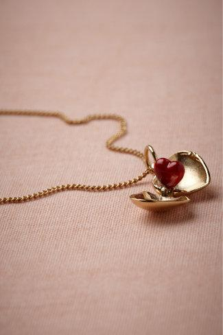 Coeur Necklace in SHOP The Bride Bridal Jewelry at BHLDN