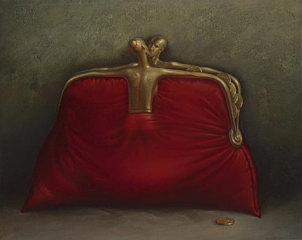 Vladimir Kush - red-purse