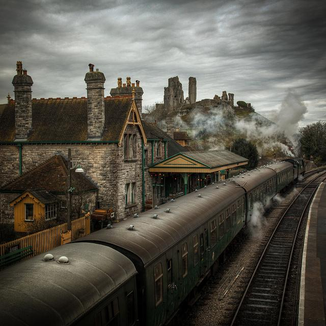 last train from the castle....... | Flickr - Photo Sharing!