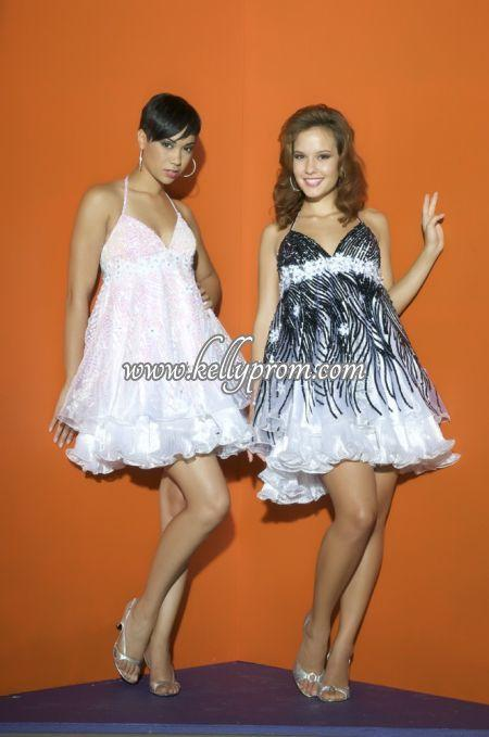 Discount Babydoll Prom Dresses - Style 2482B - $256.44