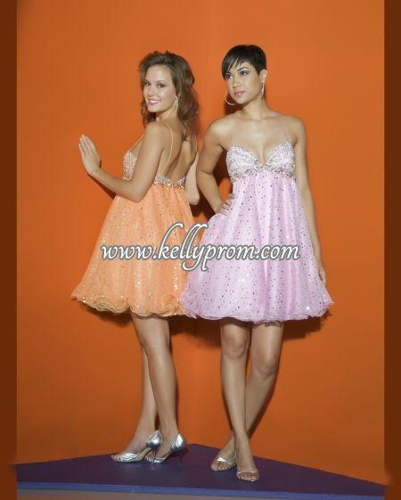 Discount Babydoll Prom Dresses - Style 2484B - $234.64