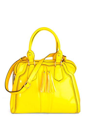 Yellow, My Dear Bag | Mod Retro Vintage Bags | ModCloth.com