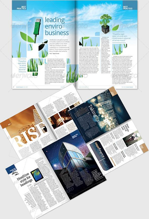 Creative Magazine Layout Design Ideas | EntheosWeb
