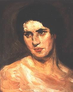 Marguerite Jeanne Carpentier - Portraits, self-portrait
