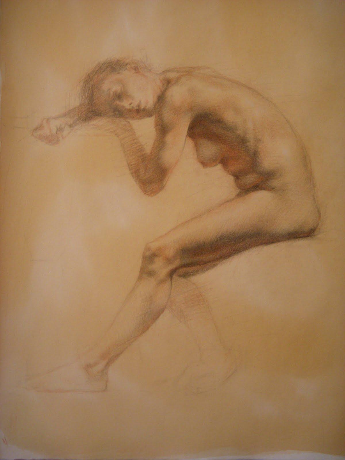 Drawing & Painting Journal: Friday Life Drawings