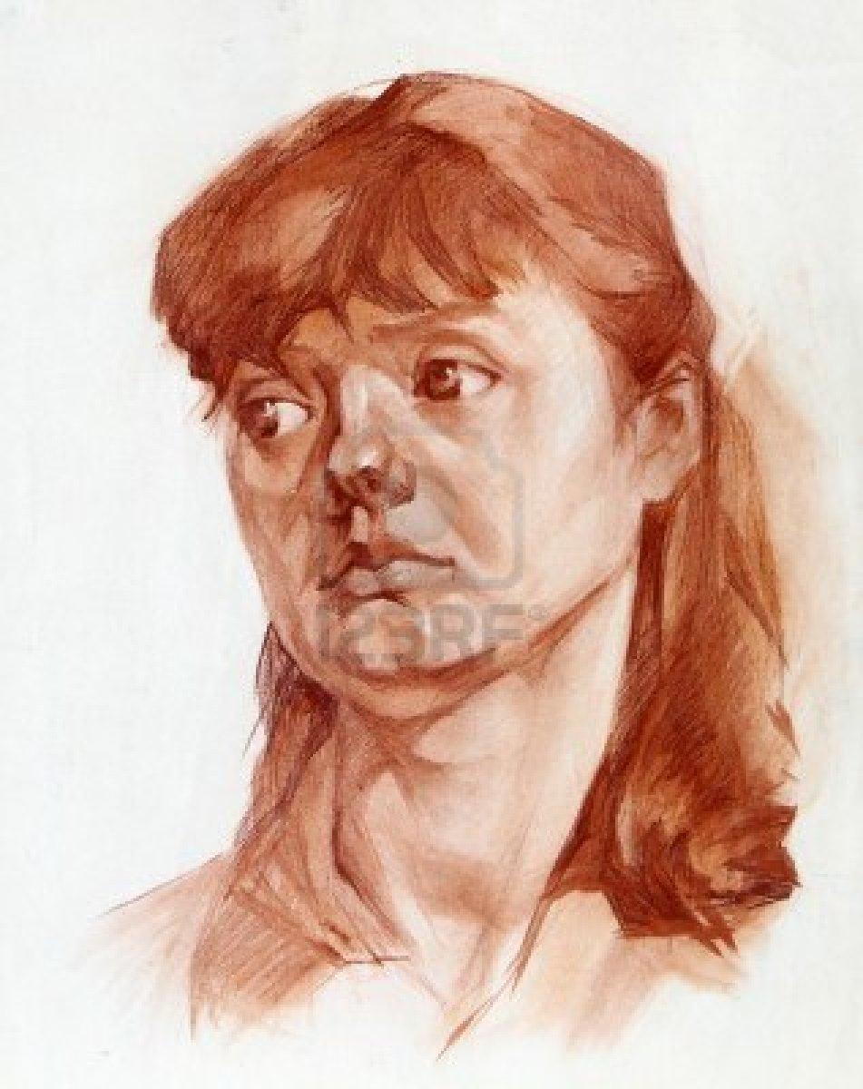 Resultados da Pesquisa de imagens do Google para http://us.123rf.com/400wm/400/400/denyskuvaiev/denyskuvaiev1112/denyskuvaiev111200027/11569240-graphic-portrait-of-a-girl-painted-sanguine.jpg