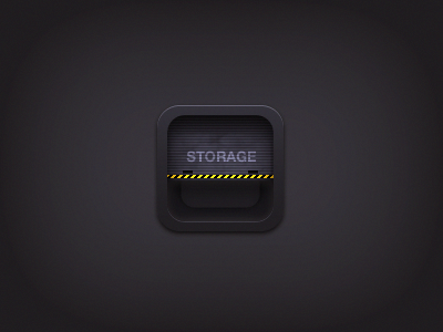 Storage icon by Kamil Khadeyev