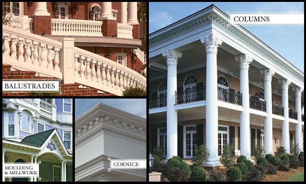 Columns | Architectural Columns | Balustrade | Mouldings & Millwork | Melton Classics, Inc.