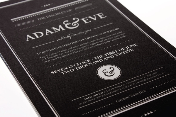 Adam & Eve Law Firm Branding on the Behance Network — Designspiration