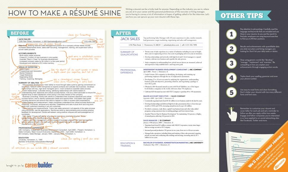 How to Make a Résumé Shine | Visual.ly
