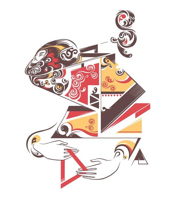 25 Distinctive Vector Illustrations by PÁL   inspirationfeed.com