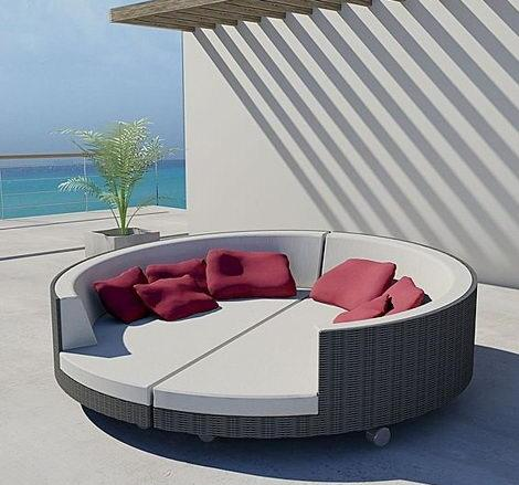 Cool Outdoor Sunburn Lounge Chair Design