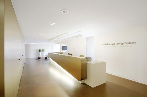 Zahnarztpraxis »smiledesigner-Lounge SailCity« | GfG / Gruppe für Gestaltung GmbH | Project