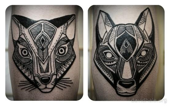Tattoos / David Hale